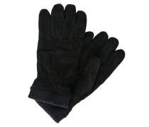 Handschuhe navy / schwarz