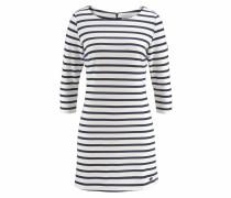 Jerseykleid marine / weiß