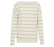 Sweatshirt creme / marine