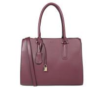 Handtasche 'kaufhold' weinrot