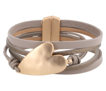 Armband 'Zea' gold / taupe