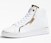Sneaker 'Brina' gold / weiß