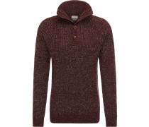 Pullover burgunder