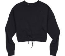 Sweater ' Cropped Crew W ' schwarz