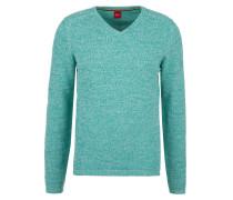Pullover mit V-Ausschnitt jade