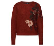 Pullover rotmeliert