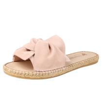 Slipper 'pla 153S' beige / rosa