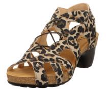 Sandalette braun / mischfarben