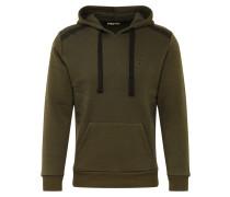 Sweatshirt 'ziyefa' grün / schwarz