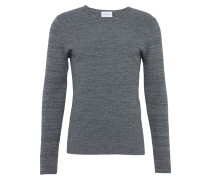 Pullover 'the Fine Structure' graumeliert