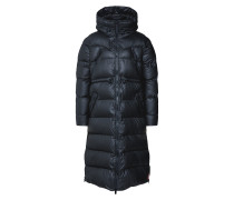 Puffer Mantel schwarz