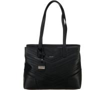 Handtasche 'Stylish' schwarz