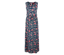 Kleid dunkelblau / rosa / rot