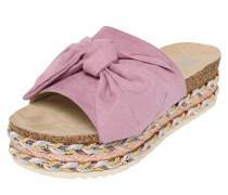 Sandale hellbraun / rosa