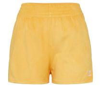Shorts gelb / weiß