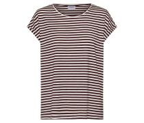 T Shirt creme / rot