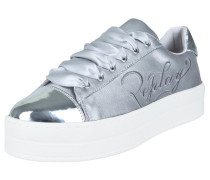 Plateau-Sneaker 'stardust' silber