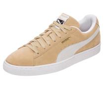 Sneaker 'Suede Classic' beige / weiß