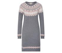 Kleider 'dress jacquard' grau
