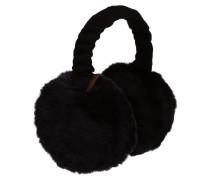 Ohrenwärmer 'Plush' schwarz