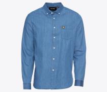 Jeanshemd 'Denim Shirt' blue denim