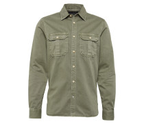 Hemd 'Oversized garment dyed workwear shirt'