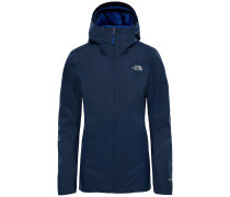 'Tanken Zip In' Outdoorjacke navy