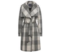 Mantel Mahonie grau
