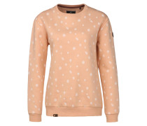 Sweatshirt 'Uelle Dots' rosa