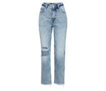 Mom-Jeans 'Donna' blue denim