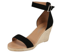 Sandale 'Erin' beige / schwarz