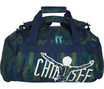 Reisetasche dunkelblau / grün
