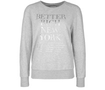 Sweatshirt Sweat Silver