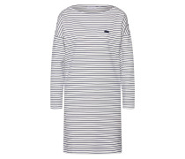 Kleid dunkelblau / mischfarben / weiß