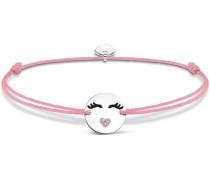 Armband 'Little Secret 'Emoticon mit Herzmund' LS041-380-9-L20v'