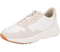 Sneaker hellbeige / hellrot / weiß