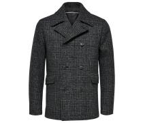 Mantel grau / dunkelgrau