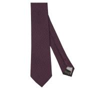 Krawatte ' Custom Fit ' lila
