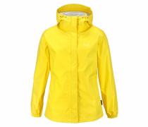 Regenjacke 'cloudburst Women' gelb