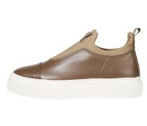 Slip On-Sneaker camel