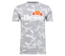 T-Shirt 'prado' grau / orange