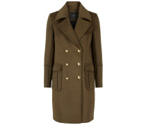 Mantel - Vom Militär inspirierter braun
