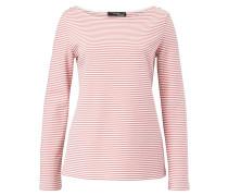 Shirt rosé / weiß