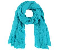 Schal Schal mit Crash-Effekt blau