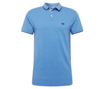 Poloshirt 'versatile' blau