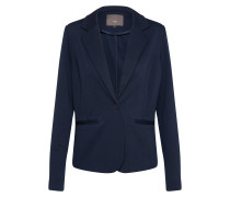 Sweat-Blazer 'Kate' nachtblau