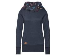 Sweatshirt 'Angelina' navy / mischfarben