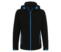 Sportjacke 'lukas' blau / schwarz