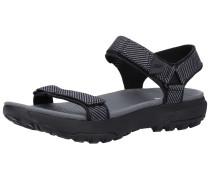 Sandalen basaltgrau / schwarz