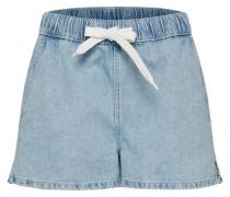 Shorts 'Wave' blue denim